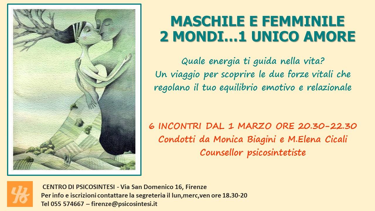 EVENTO MASCHILE FEMMINILE